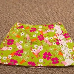 Lilly Pulitzer Reversible Skirt